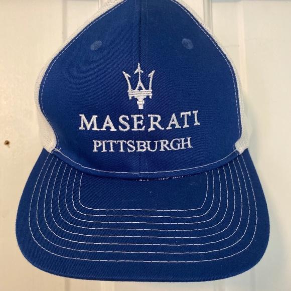 Maserati Pittsburgh Vintage Hat Baseball Cap - OS